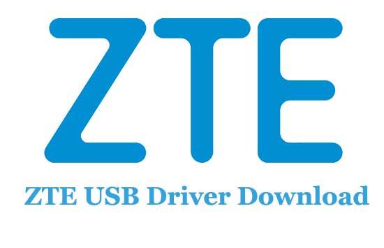 ZTE USB Driver Download