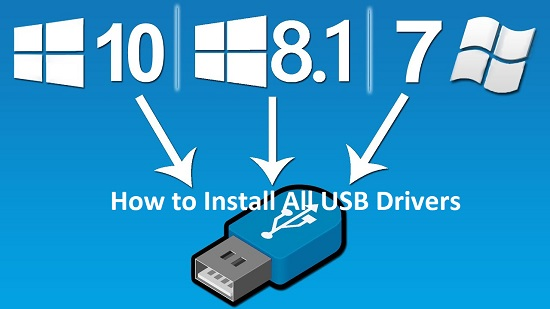How to Install All USB Drivers on Windows PC