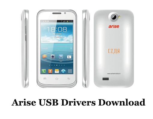 Arise USB Drivers Download