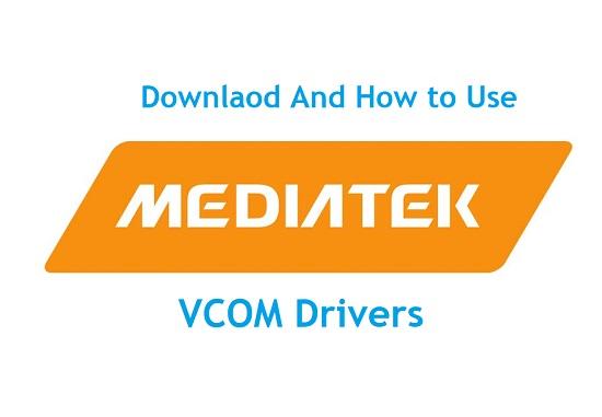 MediaTek USB VCOM Drivers download