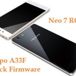 Oppo A33F Stock Firmware Neo 7 Official Flash file Download