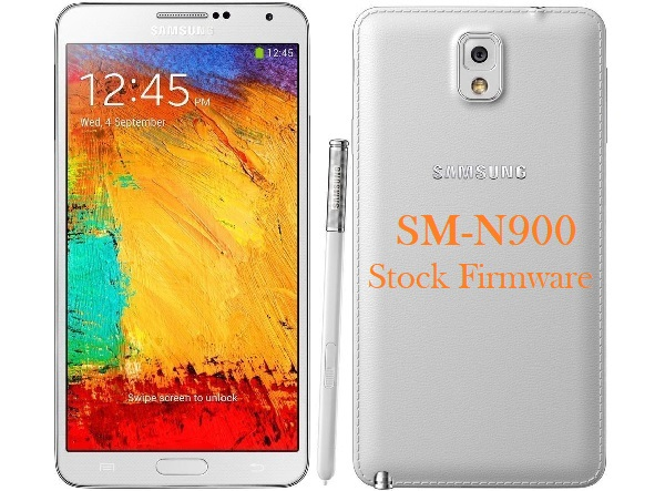 Samsung Galaxy Note 3 SM-N900 Stock Firmware Download